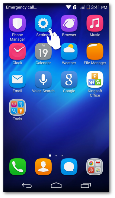 How Do I Enable Push on my Huawei Device? – BlueMail Devices
